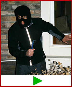 Lock-it Block-it home security burglar bar As Seen On TV commercial.